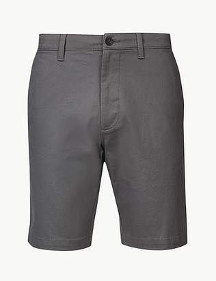 Marks and Spencer Cotton Rich Chino Shorts with Stretch