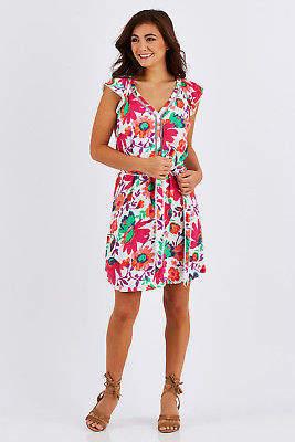 Hatley NEW Womens Short Dresses Carrie Dress TotugaBay
