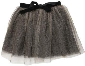 Caramel Baby And Child Glittered Multi Layered Tulle Skirt