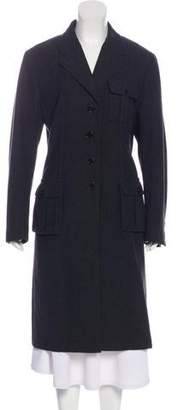 Prada Long Wool Coat