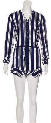 The Jetset Diaries Long Sleeve Mini Romper