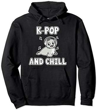K-Pop and Chill Hoodie - Seal Pullover Hoodie