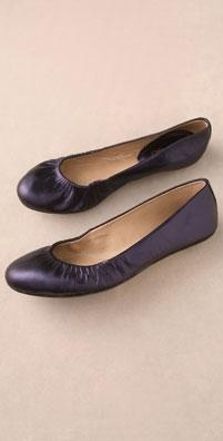 Maloles George Metallic Ballet Flat