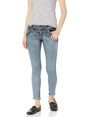 V.I.P.Jeans V.I.P.JEANS Women's Skinny Slim Fit Stretchy Sand Washed Soft Denim