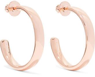 Monica Vinader Fiji Large Rose Gold Vermeil Hoop Earrings - one size