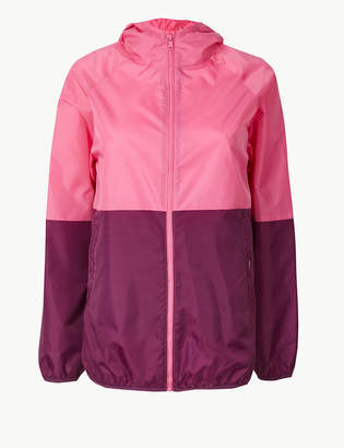 Marks and Spencer Colour Block Zip Detail Parka