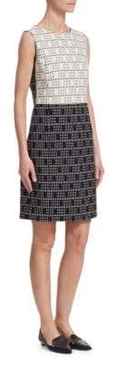Akris Punto Jacquard Shift Dress