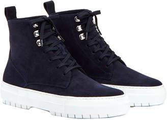 Aquatalia Tess Waterproof Suede Sneaker