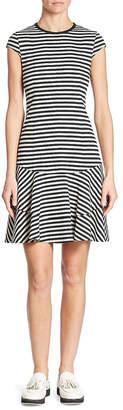 Akris Striped Jersey Dress