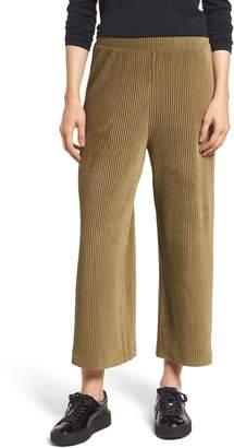 BP High Rise Knit Corduroy Crop Pants