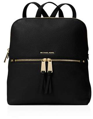 MICHAEL Michael Kors Rhea Medium Zip Leather Backpack