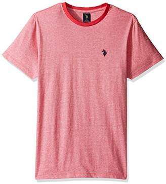 U.S. Polo Assn. Men's Short Sleeve Solid Crew Neck Classic Fit T-Shirt