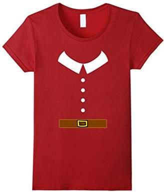 Thanksgiving Pilgrim Outfit Costume Collar Belt Buttons Tee