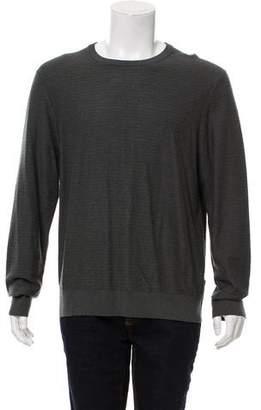 Michael Kors Textured Crew Neck Sweater