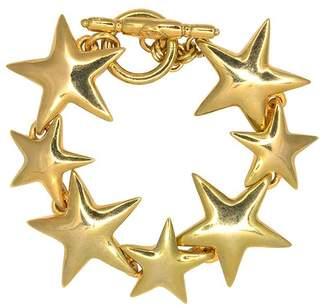 Kenneth Jay Lane Gold Star Bracelet