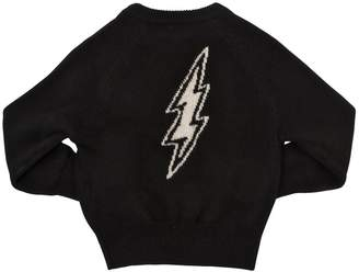 Zadig & Voltaire Bolt Intarsia Wool & Cashmere Sweater