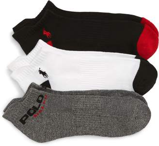 Polo Ralph Lauren 3-Pack Low-Cut Socks