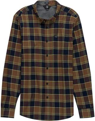 Volcom Caden Long-Sleeve Flannel Shirt - Men's