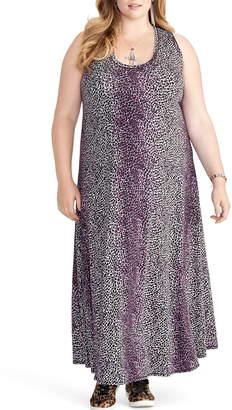 Rachel Roy RACHEL  Samantha Leopard Print Maxi Dress