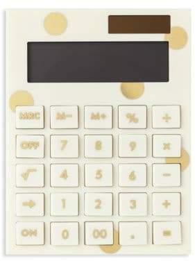 Kate Spade Polka-Dot Calculator