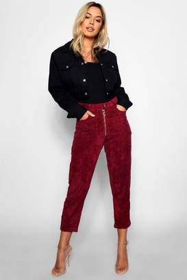 boohoo Petite Jumbo Cord Mom Jeans