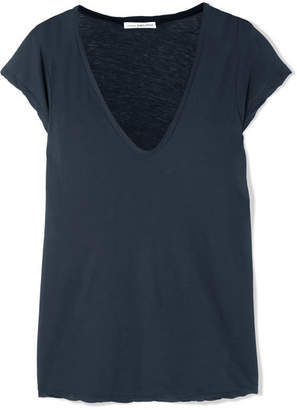 James Perse Cotton-jersey T-shirt - Navy