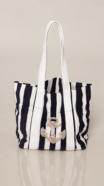 Twisted Heart Baltic Anchor Bag