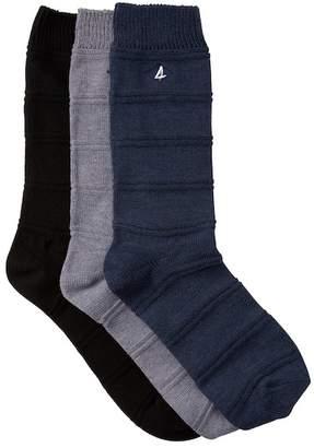 Sperry Ottoman Crew Socks - Pack of 3