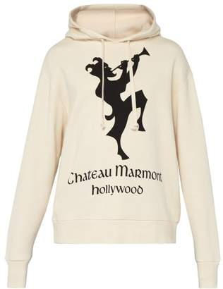 Gucci Chateau Marmont Floral Hoody - Mens - White