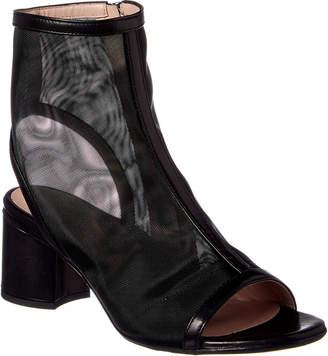 Taryn Rose Paige Leather-Trim Sandal