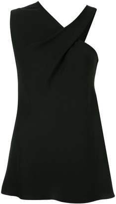 Bianca Spender one shoulder crepe etoile top