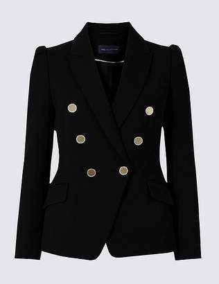 Marks and Spencer PETITE Double Breasted Blazer