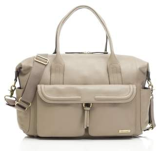 Storksak Storsak Leather Diaper Bag