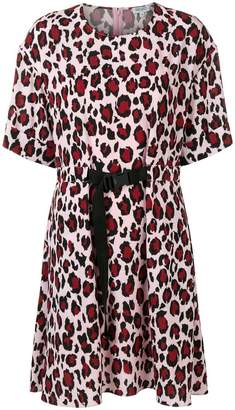 Kenzo leopard print shift dress