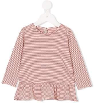 De Cavana Kids striped long sleeve T-shirt