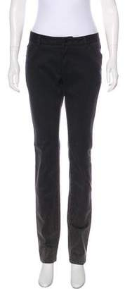 Givenchy Mid-Rise Straight-Leg Jeans w/ Tags
