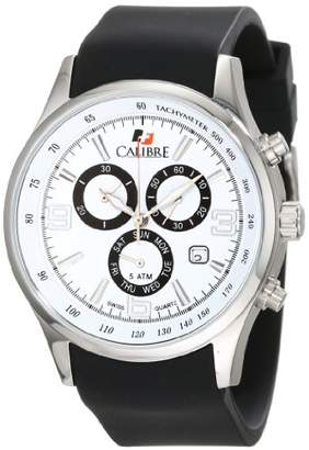 DAY Birger et Mikkelsen Calibre Men's SC-4M1-04-001 Mauler Stainless Steel Chronograph Tachymeter Date Watch