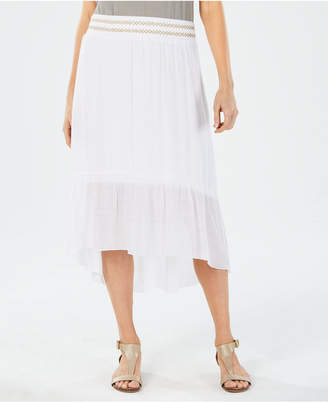 JM Collection High-Low Skirt