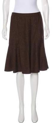 Etro Fluted Knee-Length Skirt