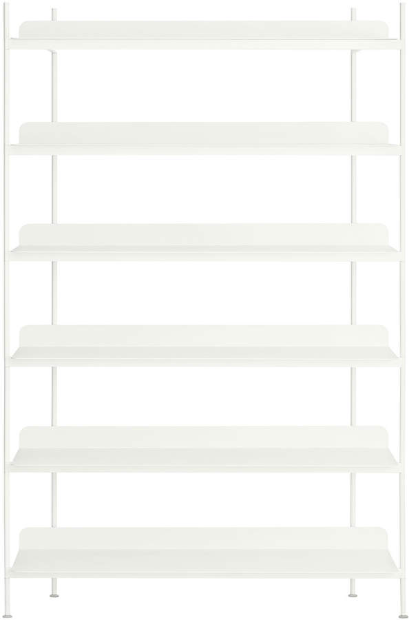 Muuto - Compile Shelving System (Config. 4), Weiß