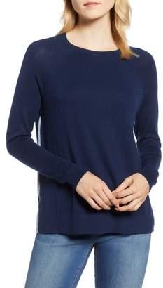 Vineyard Vines Back Zip Crewneck Sweater