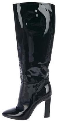 Tamara Mellon Patent Leather Knee-High Boots
