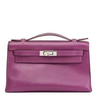 Hermes Kelly Clutch leather clutch bag