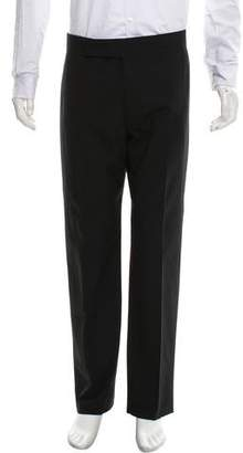 Armani Collezioni Paneled Dress Pants