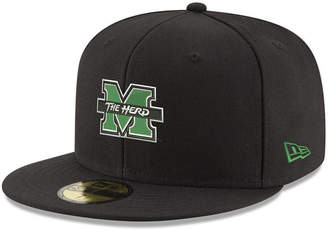 New Era Marshall Thundering Herd Shadow 59FIFTY Fitted Cap