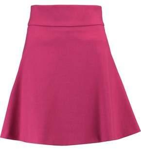 RED Valentino Flared Crepe Mini Skirt