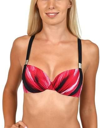 0dcac27e35e1f Lisca - Red  Jakarta  Foam Cup Bikini Top
