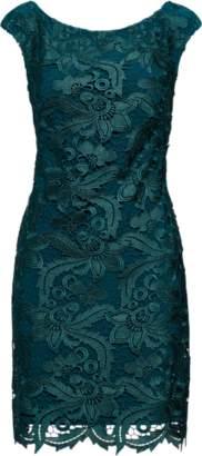 Ralph Lauren Lace Cap-Sleeve Sheath Dress
