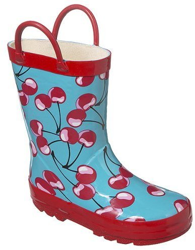 Children's Uriah Cherry Rain Boots - Multicolor