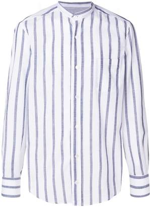 Eleventy classic striped shirt